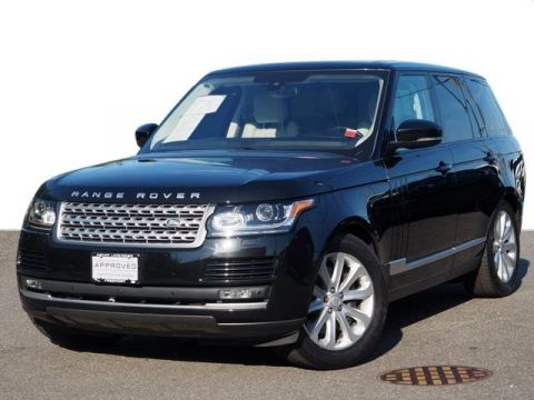 Certified Pre-Owned 2016 Land Rover Range Rover HSE