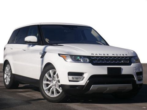 Certified Pre-Owned 2016 Land Rover Range Rover Sport 3.0 Supercharged HSE